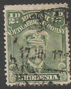 RHODESIA 119 VFU A1215-1