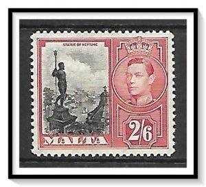 Malta #203 Statue Of Neptune MHR