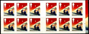 GB Sc#3455a 2015 Christmas 1st Class Booklet of 12 (LX50) Unmounted Mint