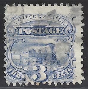 USA #114 Used Locomotive 1869 Scott CV $17.50