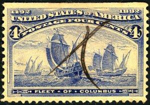 U.S. #233 Used