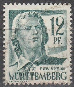 Germany #8N4 F-VF Used  (V1383)