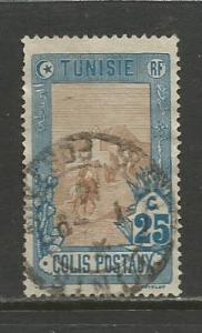 Tunisia  #Q4  Used  (1906)  c.v. $0.70