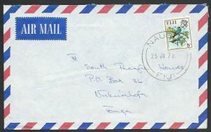 FIJI 1972 airmail cover to Tonga - NAUSORI cds.............................61771