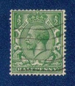 Great Britain KGV Sc #187a Used Wmk Sideways VF