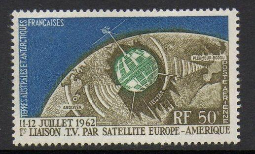FSAT TAAF 1963 Telstar Space Satellite VF MNH (C5)