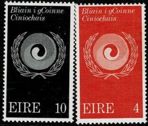 Ireland 1971 Racial Equality Year MH