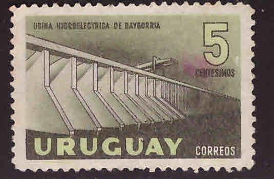 Uruguay Scott 633 Used stamp