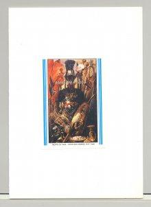 Tanzania #700 Rubens, Art 1v S/S Imperf Proof Mounted in Folder