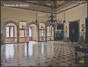 Portugal stamp Belem National Palace block MNH 2009 Mi 288 WS191489