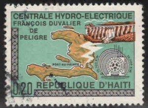 Haiti  Scott 637 Used stamp