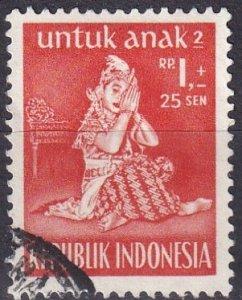 Indonesia #B82 F-VF Used CV $5.00  (SU7711)