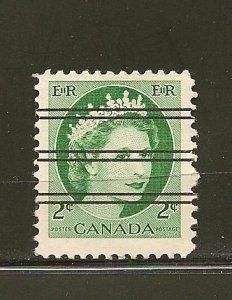 Canada 338 Precancel Used
