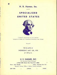 HR Harmer: Sale # 1958  -  Specialized United States: A Q...