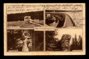 Germany 1926 Muldentalsperre Milti Real Photo Postcard Used - L7850
