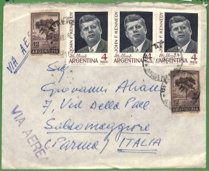 98782 - ARGENTINA - POSTAL HISTORY - COVER  to  ITALY  1964