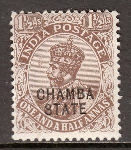 India (Chamba) - Scott #46 - MH - SCV $3.75