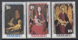 Vanuatu 297-299 Christmas MNH VF
