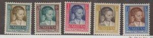 Luxembourg Scott #B40-B44 Stamps - Mint Set
