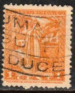 MEXICO 784, 1¢ 1934 Definitive. Yalalteca girl. Used. F-VF. (759)