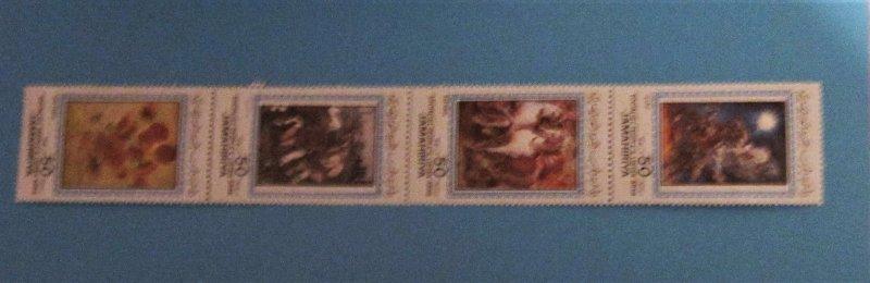 Libya - 1109, MNH Strip of 4, Set. Art. SCV - $3.00