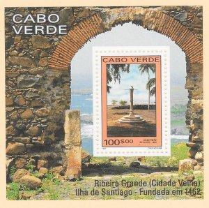 CAPE VERDE Sc#608 Souvenir Sheet MINT NEVER HINGED