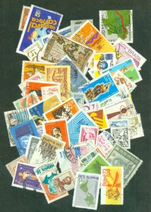 selection Brazil 1960s-70s used about 60 different