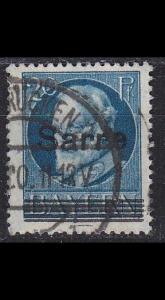 GERMANY Saar [1920] MiNr 0021 ( O/used )