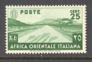 Italian East Africa Sc #7 mint never hinged
