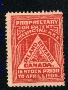 Canada Inland Revenue not cancelled   1909  PD