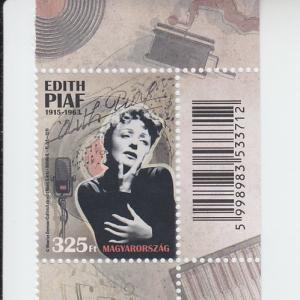 2015 Hungary Edith Piaf (Scott NA) MNH