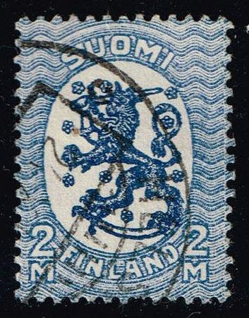 Finland #105 Standing Lion; Used (0.50)