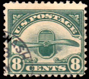 United States Scott C4 Used.