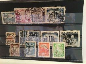 Latvia used  stamps R21788