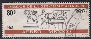 Mexico C318 Hinged Used 1966 Olympic Obstacle Race