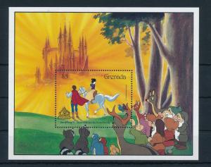 [22524] Grenada 1987 Disney Movie Snow White and the Seven Dwarfs MNH