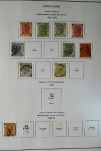 Hong Kong 1800s to 2000s Mostly Mint Stamp Collection