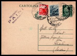 Goldpath: ITALY POSTAL CARD 1947 _CV55_P07