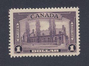 Canada MH $1.00 Stamp #245-$1.00 Chateau MH VF Guide Value = $100.00