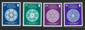 British Antarctic Territory mnh S.C.#  133 - 136