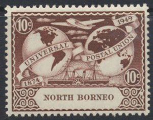 North Borneo  SG 353 SC# 241 MH  UPU 1949 See scans / details