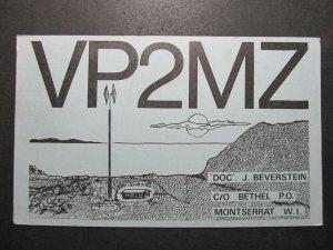 5726 Amateur Radio QSL Card Bethel PO Montserrat