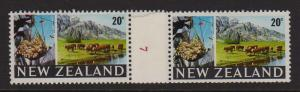 New Zealand 1967 Coil stamp CP ODC24