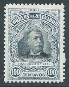 El Salvador, Sc #348, 100c, MH