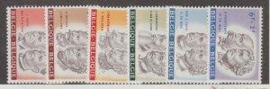 Belgium Scott #B684-B689 Stamps - Mint NH Set