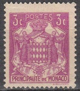 Monaco #147 F-VF Unused   (S7786)