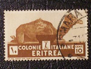 Eritrea Scott #160 used