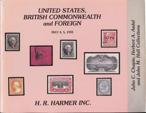 HR Harmer: Sale # 2888  -  United States, British Commonw...