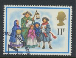 Great Britain  SG 1073 SC# 849 Used / FU with First Day Cancel - Christmas 1978