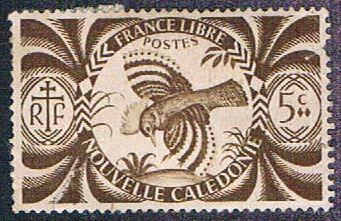 New Caledonia 252 Used Kagu (BP4420)